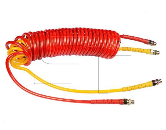 Duo Matic Luftwendel gelb / rot