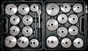Ölfilterschlüssel Sortiment 23-teilig