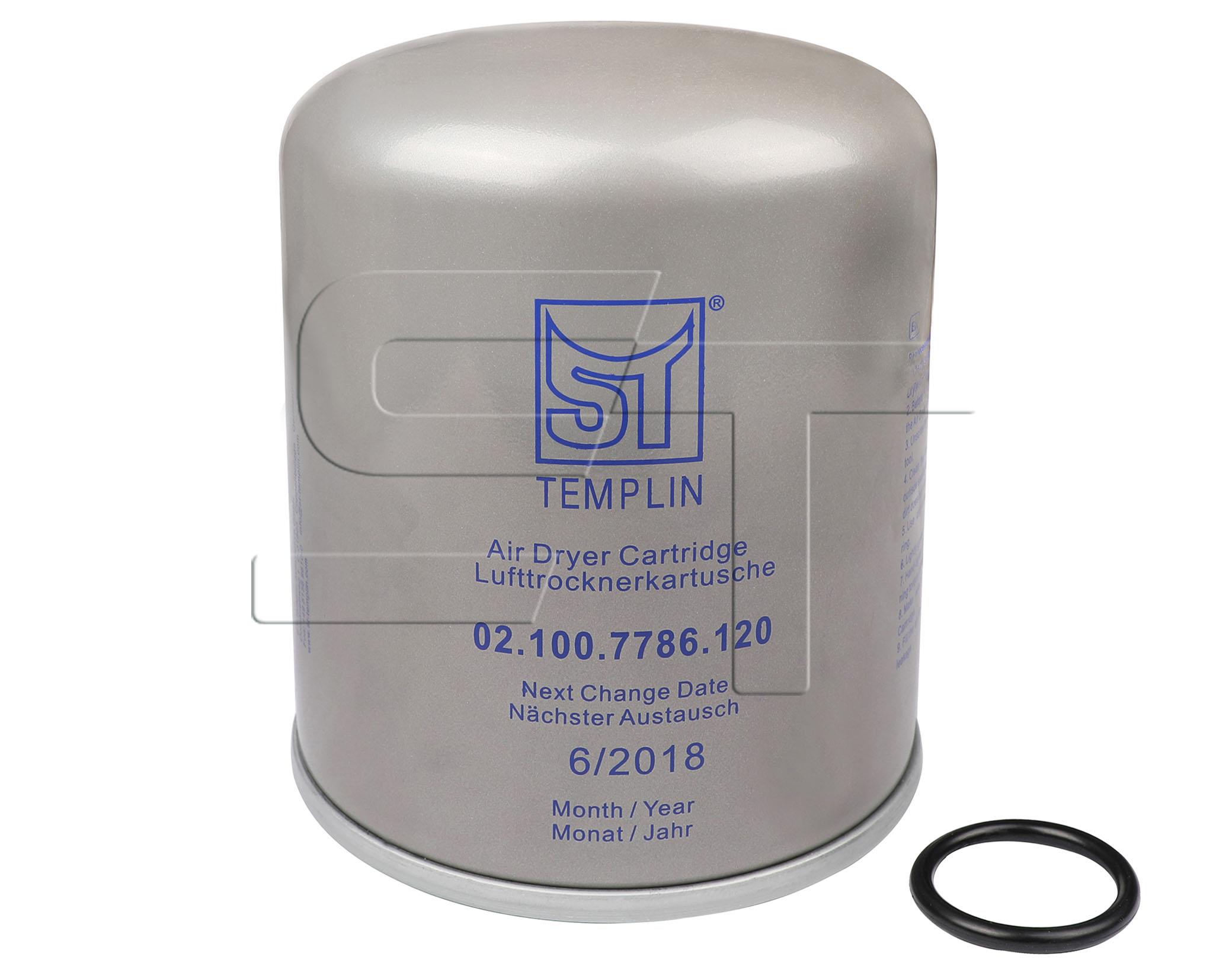 Lufttrocknerkartusche mit Ölfilter