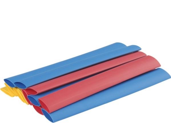 Schrumpfschlauch-Sortiment 5 farbig
