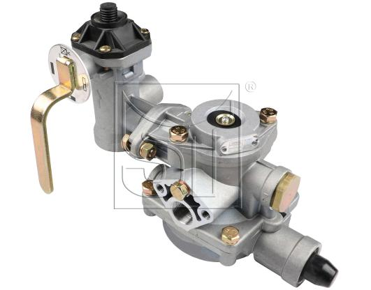 Anhänger-Bremsventil mit Bremskraftregler