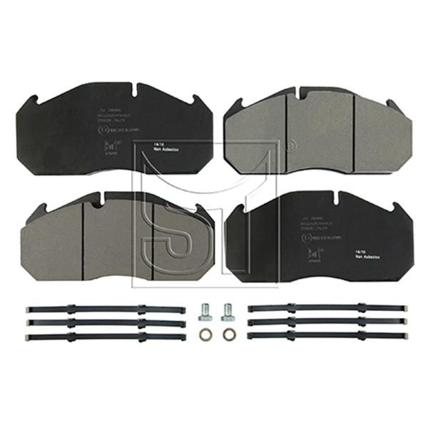 Bremsbelagsatz, passend für MAN M 2000 L, M 2000 M, E 2000, F 2000, TGA