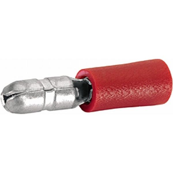 Rundstecker rot VPE 100 Stück