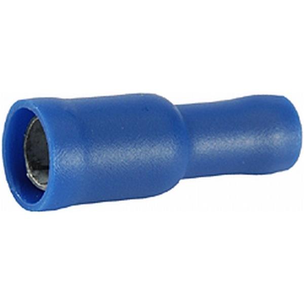 Rundsteckhülsen blau VPE 50 Stück