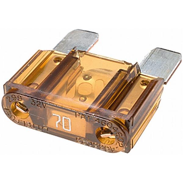MAXI Flachstecksicherung 70 Ampere braun