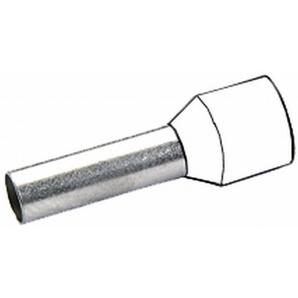 Kabelendhülse weiß VPE 100 Stück