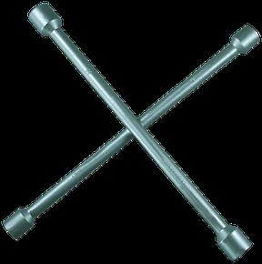 "Radkreuzschlüssel, 13/16"" 17-19-22 mm"