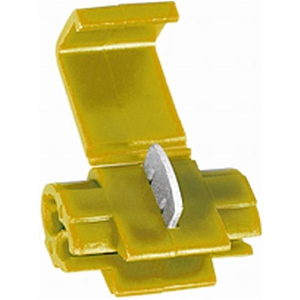 Abzweig-Leitungsverbinder gelb VPE 10 Stück