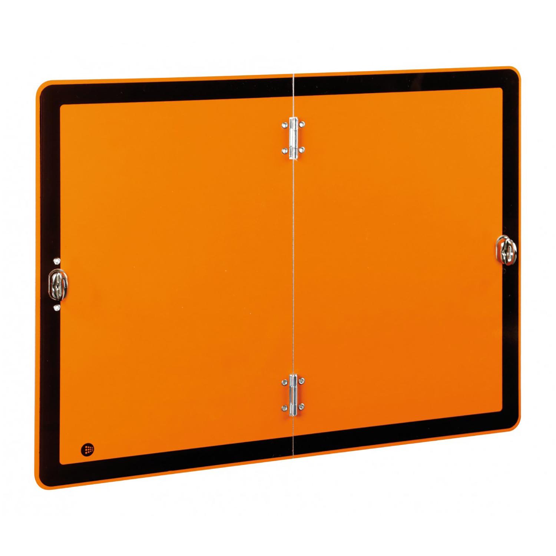 Warntafel orange Gefahrgut klappbar