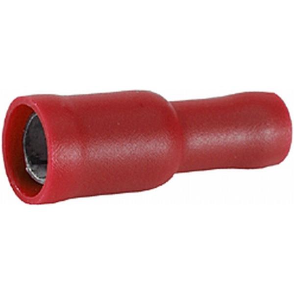 Rundsteckhülsen rot VPE 50 Stück
