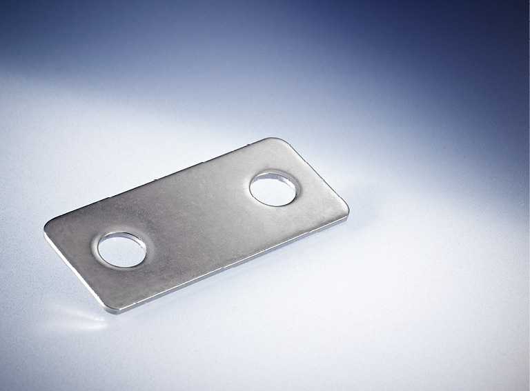 Gegenplatte Nietloch 6,5mm VPE 10 Stück