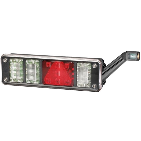 Voll-LED Heckleuchte links mit LED-Umrissleuchte