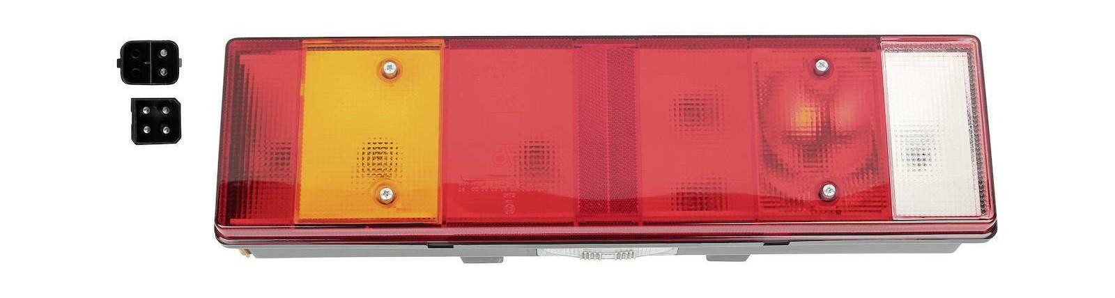 Heckleuchte links mit Kennzeichenleuchte passend für Volvo FH