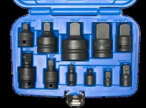 "IMPACT-Adapter- und Kugelgelenksatz 1/4""-1""  11-teilig"