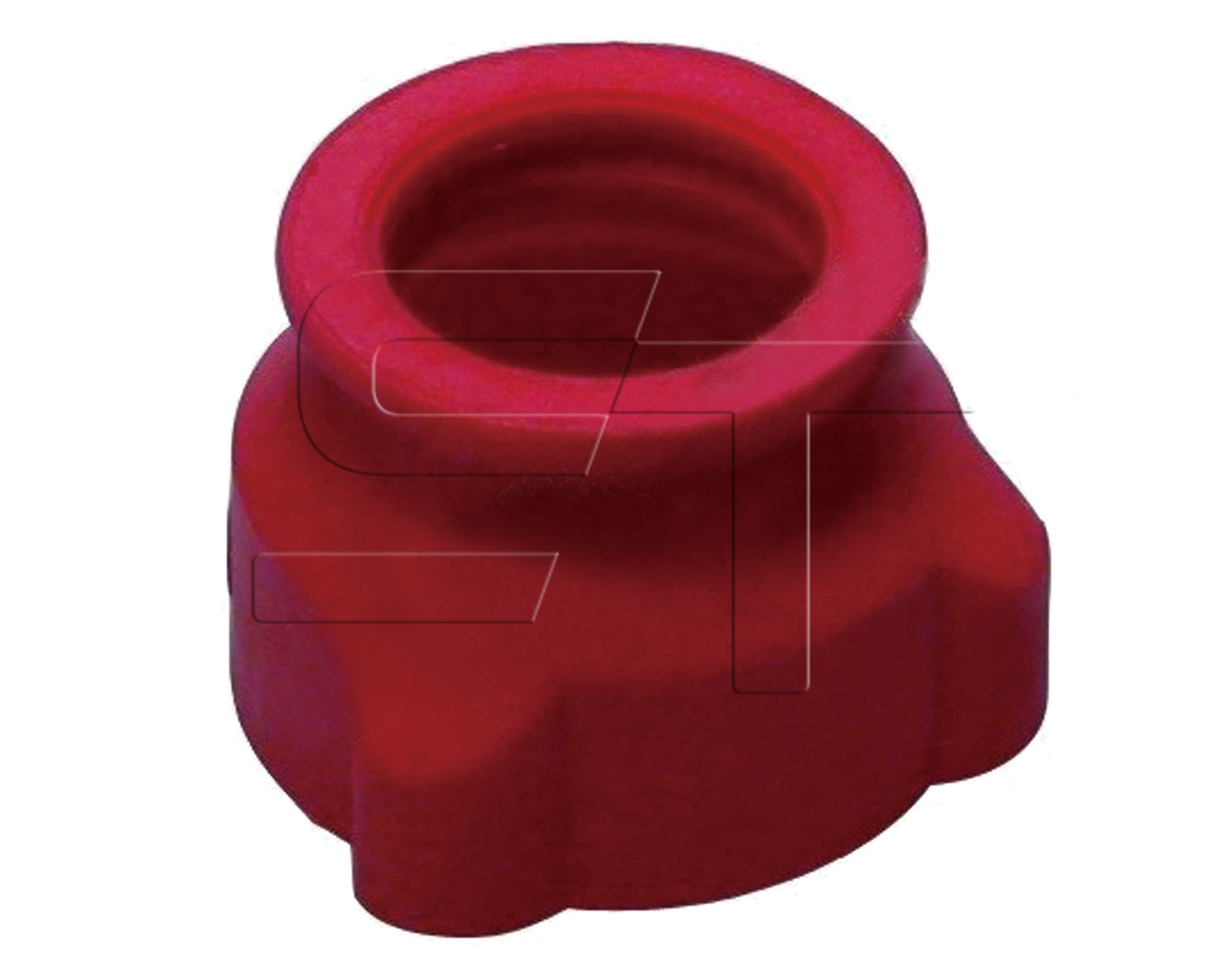 Verschluß/Schutzkappe rot VPE 5 Stück