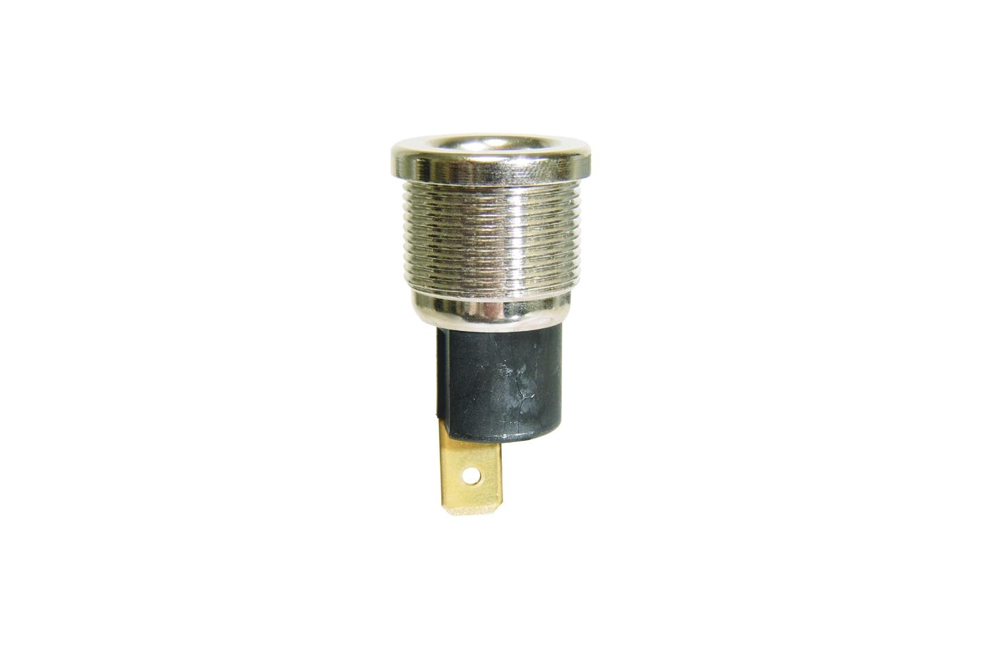 Steckdose 1 polig ohne Deckel M18x1 für Rundumkennleuchte