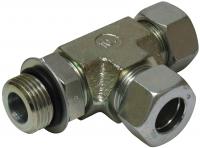 T- Verschraubung für 15 mm Rohr, seitlich M22 x 1,5 einschraubbar
