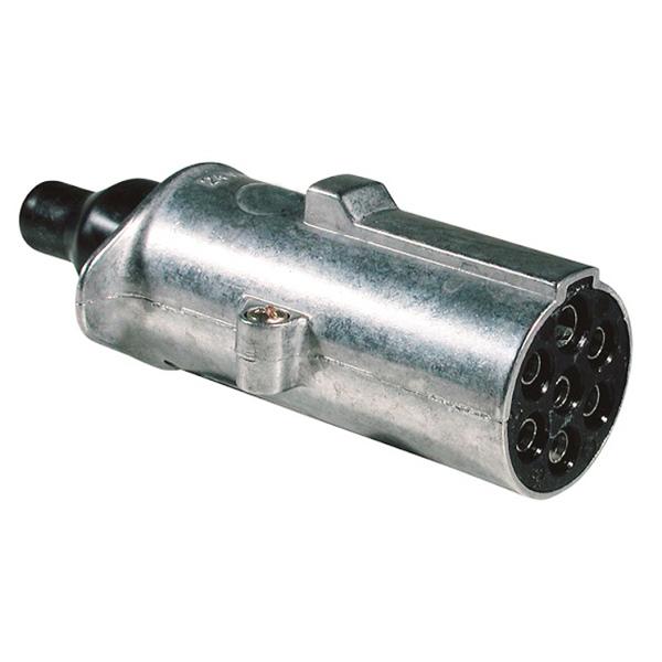 Stecker 24 Volt 7 polig mit Kontakthülse ISO 1185 (N-Typ)