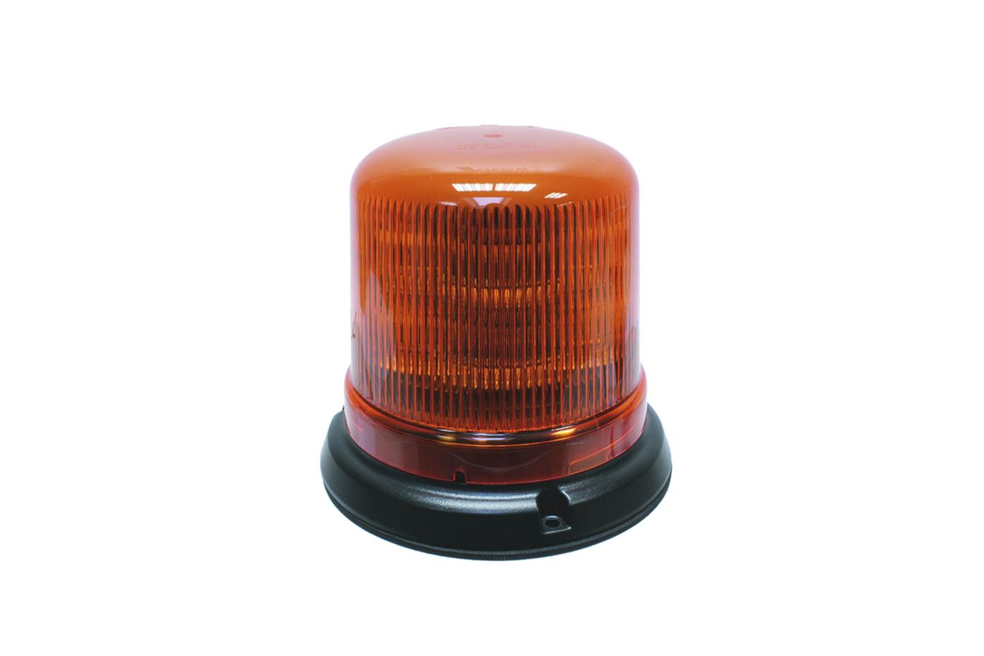 LED Rundumkennleuchte mit Flanschbefestigung