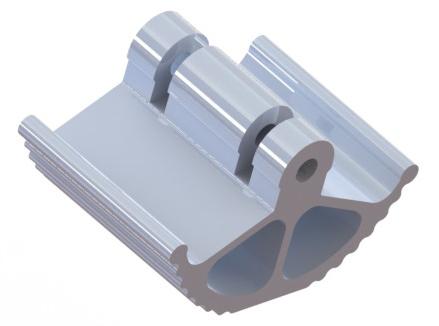 Stützfuß für LT Stützbeine 6507001 und 6508801