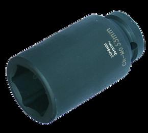 """IMPACT-Steckschlüsseleinsatz 3/4"""" 33 mm lang"""