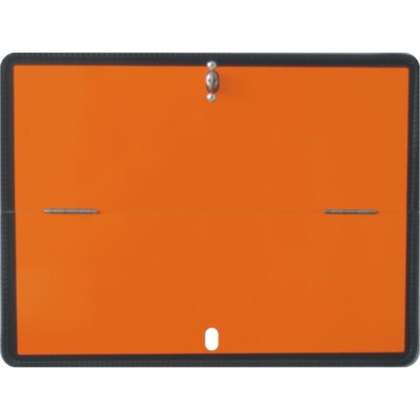 Warntafel orange Gefahrgut klappbar horizontal