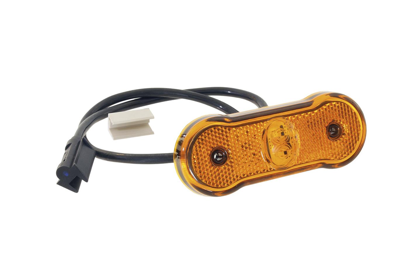 LED Seitenmarkierungsleuchte mit zwei Leuchtdioden