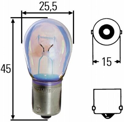 Glühlampe 24 Volt / 21 Watt BA 15s