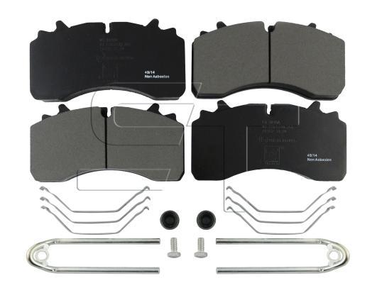 Bremsbelagsatz passend für SAF SK RB, SK RB Integral, SK RS, SK RZ