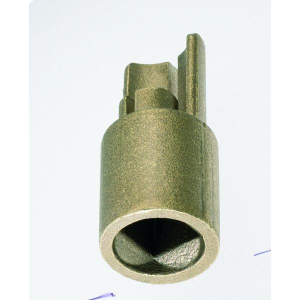 Adapterstück Innenvierkant 12x12 mm für Spannrohr 27mm