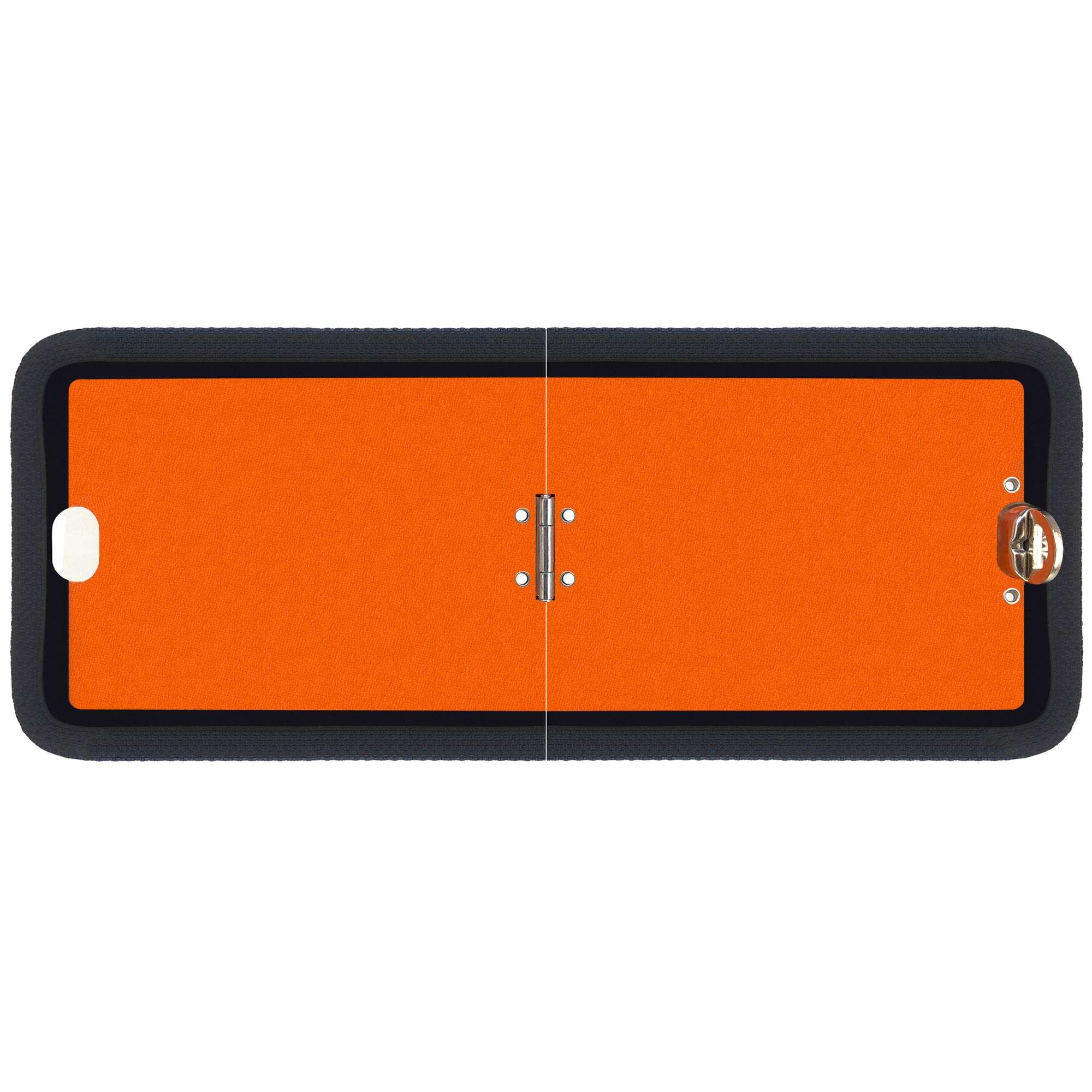 Warntafel orange Gefahrgut 300x120 klappbar