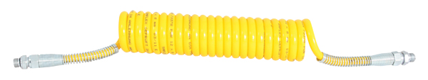 Luftwendel gelb Knickschutz Stahlfeder