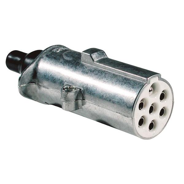 Stecker 24 Volt 7 polig mit Kontaktstift ISO 3731 (S-Typ)