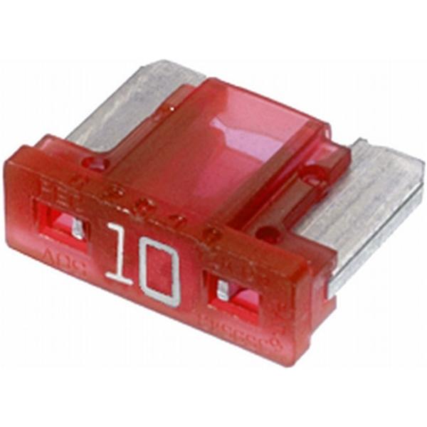 Low-Profile Mini-Flachstecksicherung 10 Ampere rot