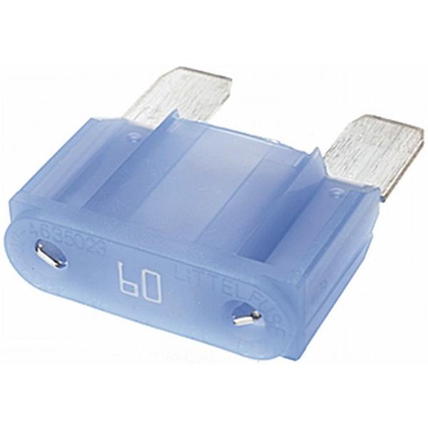 MAXI Flachstecksicherung 60 Ampere blau