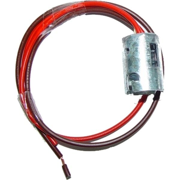 Fassung für Glühlampen BA 15s mit Kabel