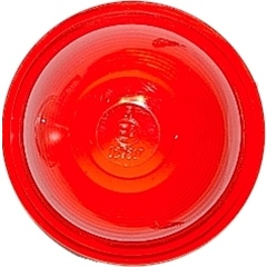 Lichtscheibe rot für Umrissleuchten