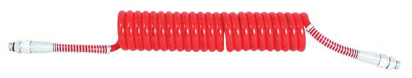 Luftwendel rot Knickschutz Stahlfeder