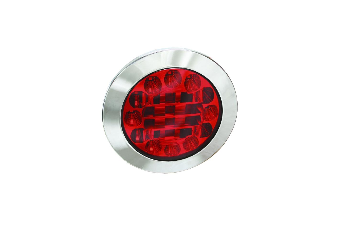 LED Heckleuchte Schluss und Bremsleuchte 10-30 Volt