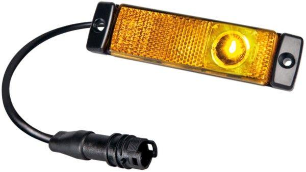 LED Seitenmarkierungsleuchte Hella mit Easy-Conn-Stecker