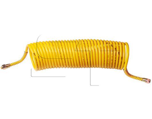Luftwendel gelb extra lang 9,5 Meter Arbeitslänge