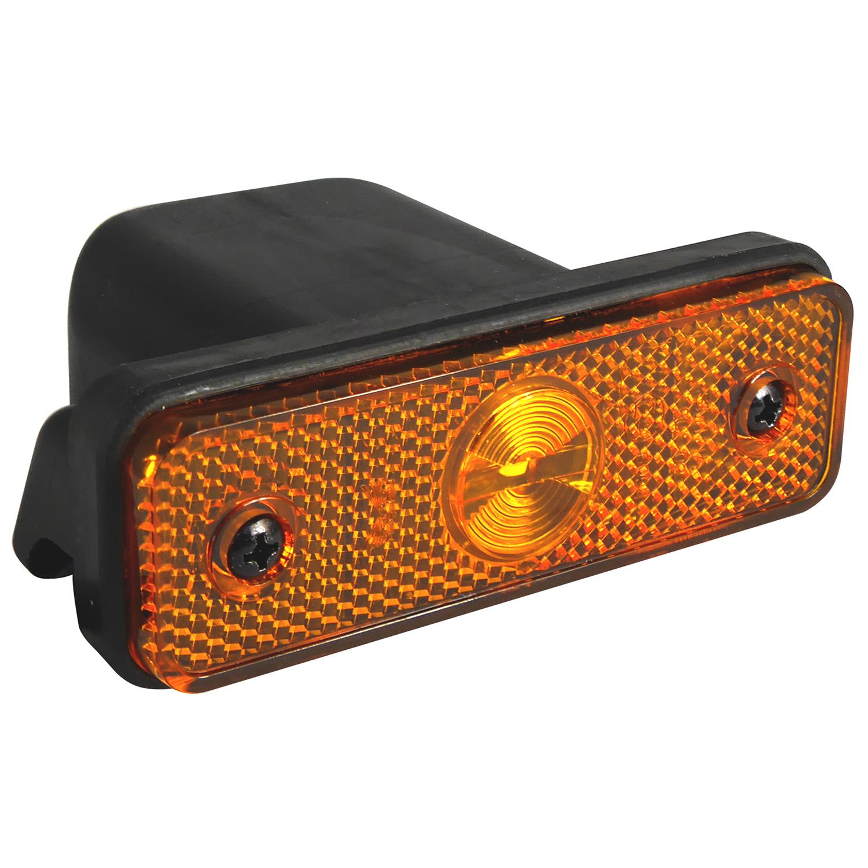 LED Seitenmarkierungsleuchte Flatpoint mit Einbaugehäuse