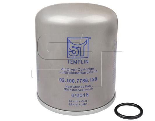 Lufttrocknerkartusche mit Koaleszenzfilter