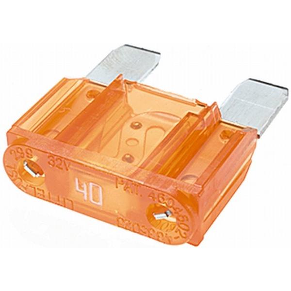 MAXI Flachstecksicherung 40 Ampere orange