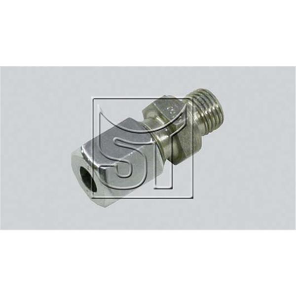 Gerade Einschraub-Verschraubung M10 x 1 auf 10 mm Rohr