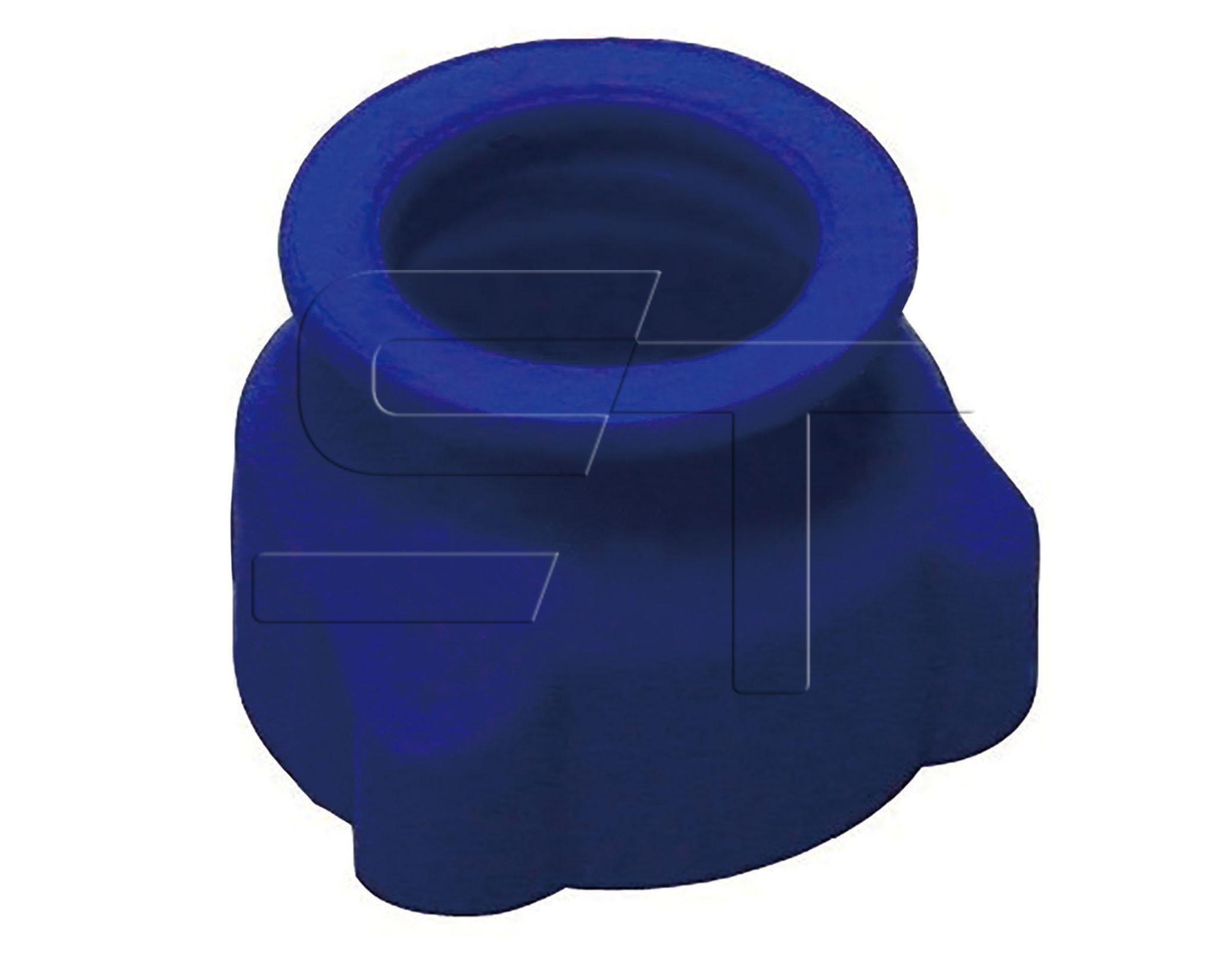 Verschluß/Schutzkappe blau VPE 5 Stück