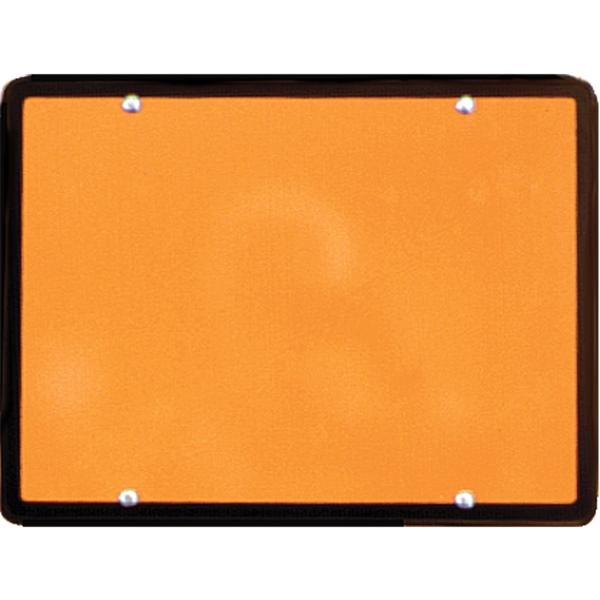 Warntafel orange Gefahrgut starr