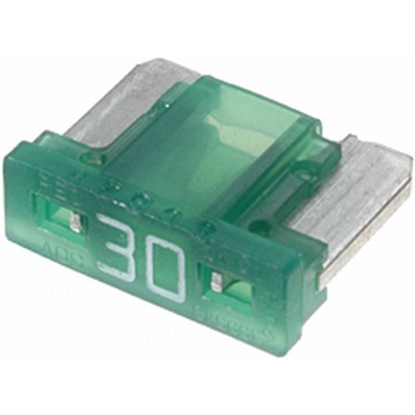 Low-Profile Mini-Flachstecksicherung 30 Ampere grün