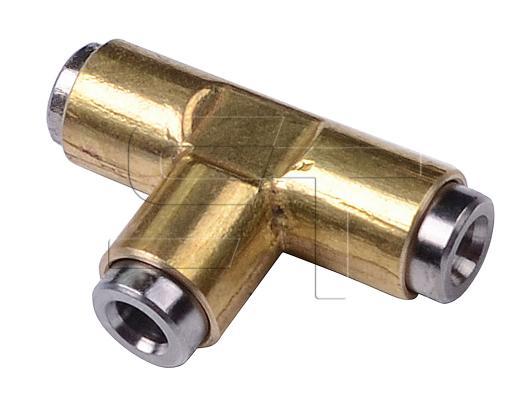 T- Stück Schnellverbinder 6x1