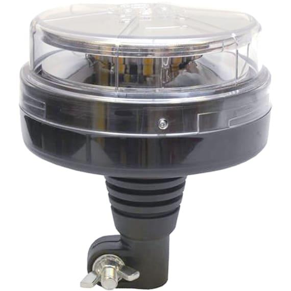 LED Rundumkennleuchte mit Befestigungsstutzen